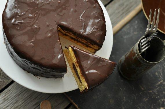 citromos csokis torta