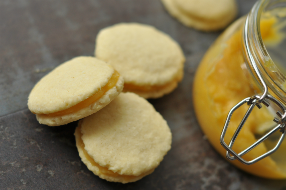 citromos kokuszos keksz