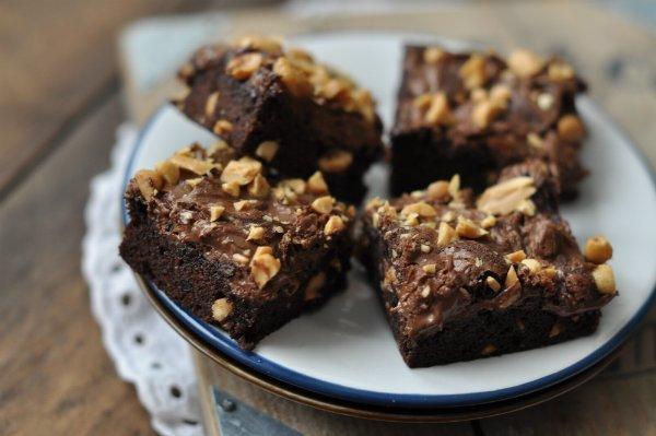 nutellas brownie