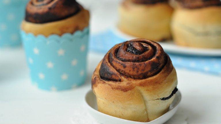 Két kedvenc egyben: készíts te is kakaós csiga muffint!